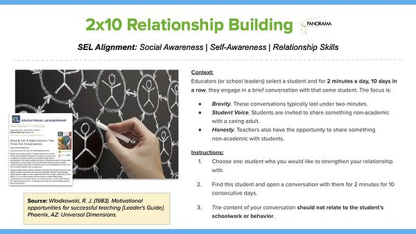 2x10 relationship building