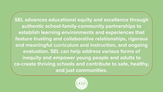 CASEL - definition of SEL 2020
