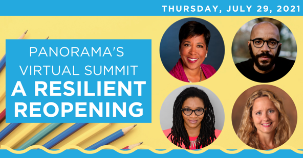 """Summer Panorama Virtual Summit """"A Resilient Reopening"""" Speakers"""