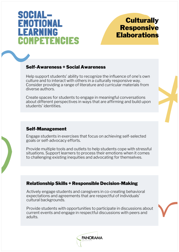 culturally responsive social-emotional learning