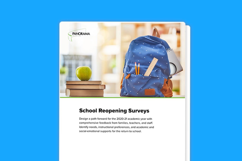 School Reopening Surveys