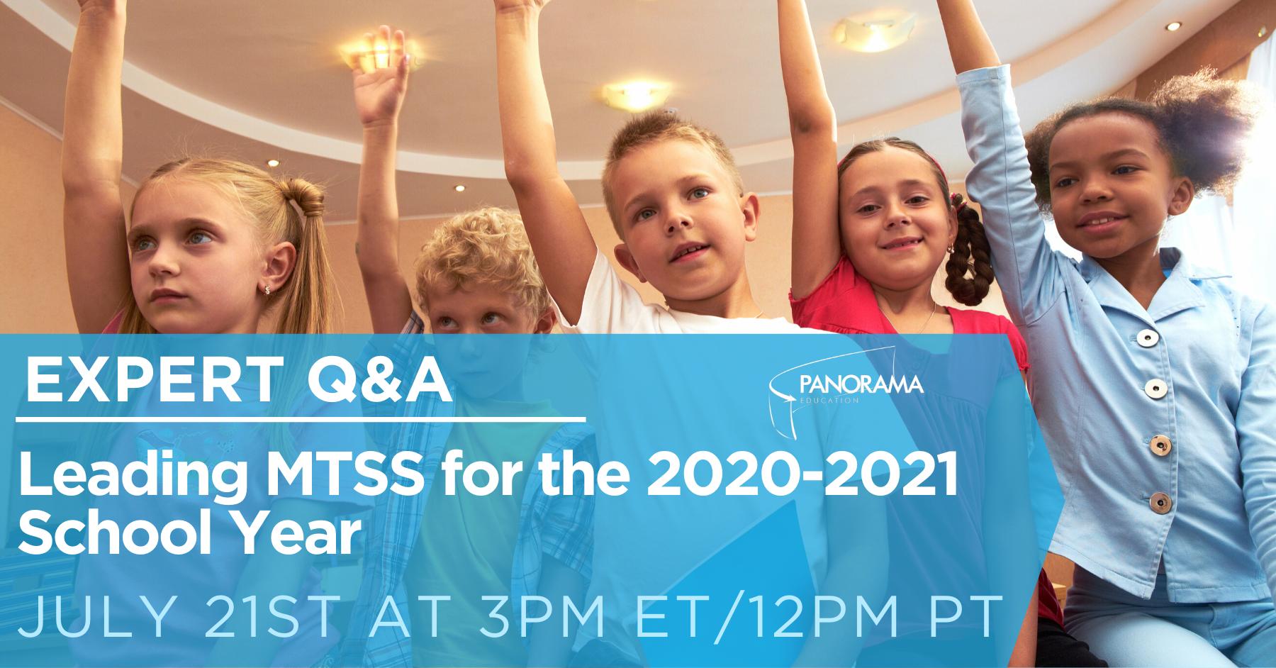 Leading MTSS Q&A