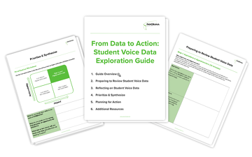 Student Voice Data Exploration Guide