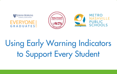 Using Early Warning Indicators to Support Every Student