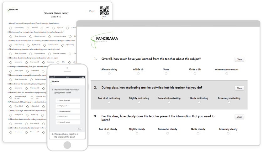 Start with research-backed surveys