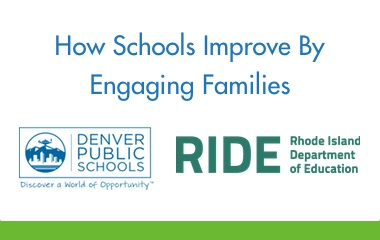 How Schools Improve by Engaging Families