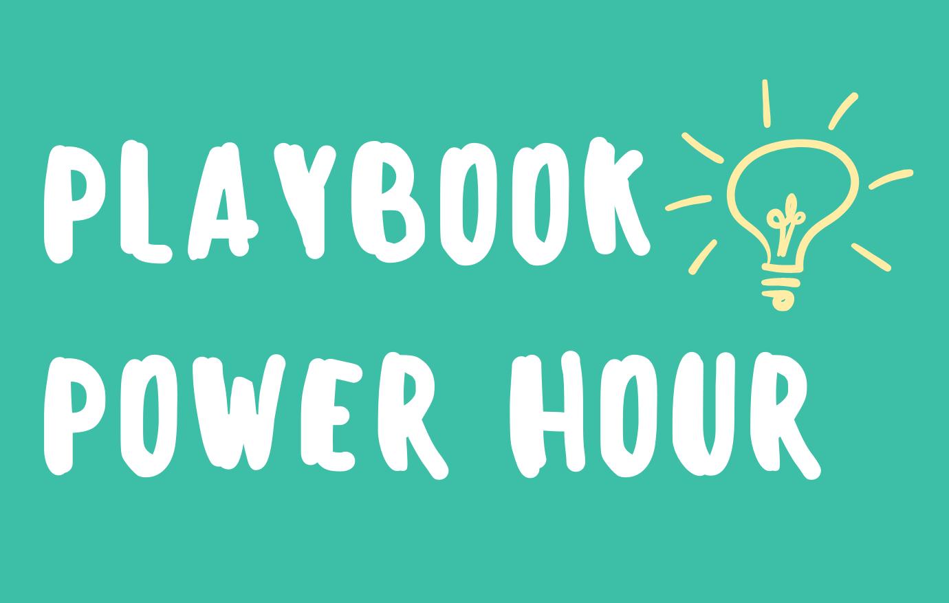 Playbook Power Hour Logo