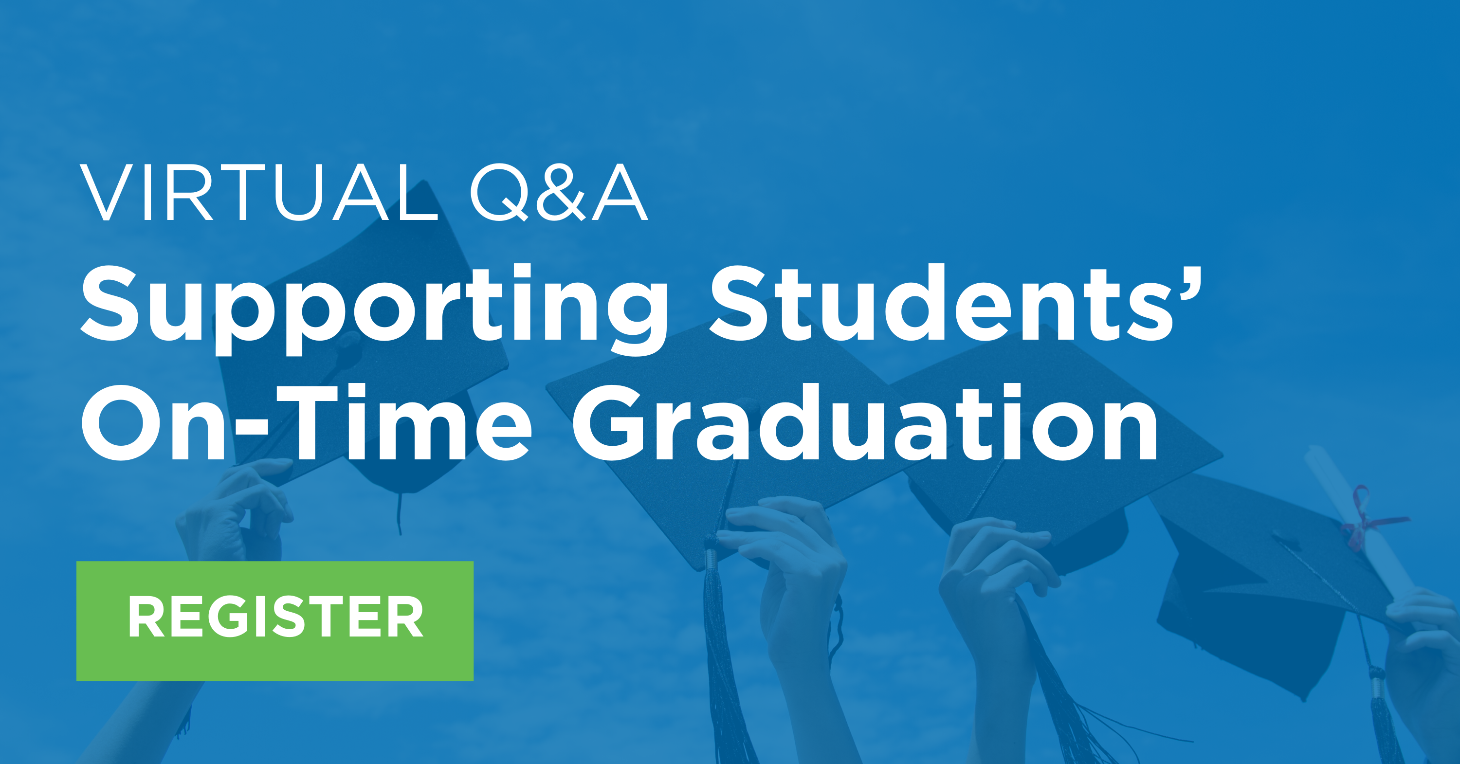 Virtual Q&A_ Supporting Students' On-Time Graduation Image