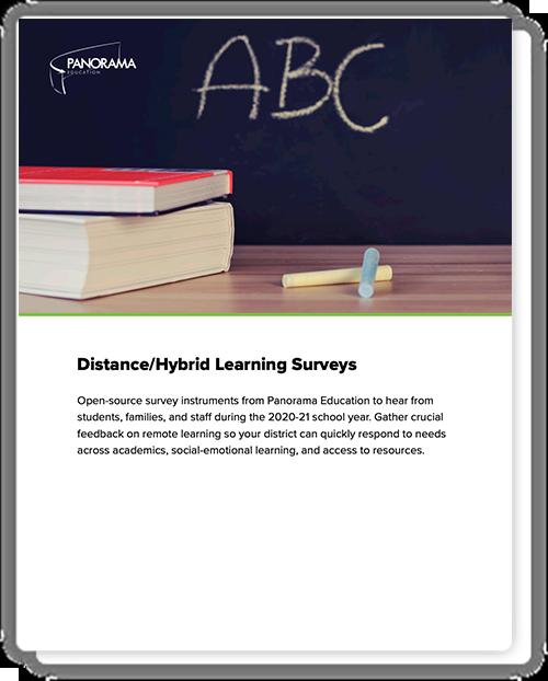 Distance/Hybrid Learning Surveys