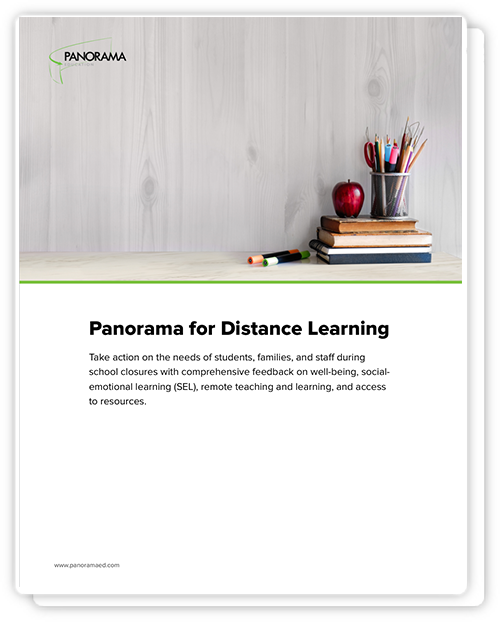 Panorama for Distance Learning