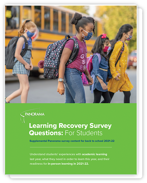 Learning Recovery Surveys