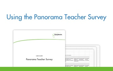 Using the Panorama Teacher Survey